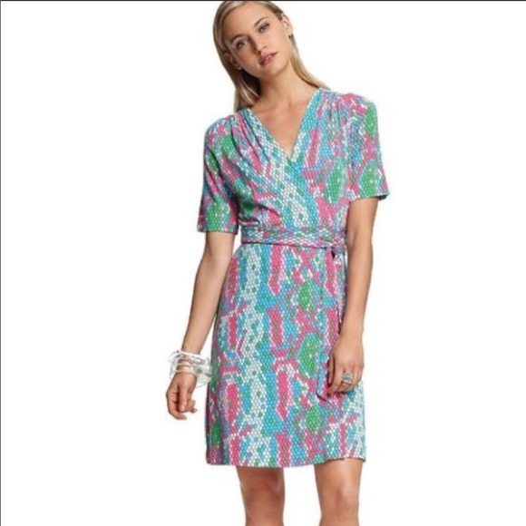 070d086b9f818a Lilly Pulitzer Dresses | Adalie Show Me Some Skin Wrap Dress | Poshmark